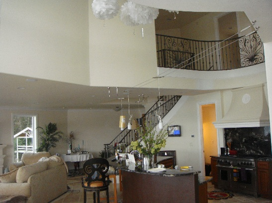 Residential Construction - Living Room